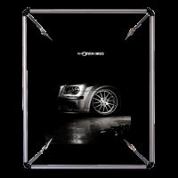 PS 570 Yuvarlak poster gerdirme (50x70 cm)..