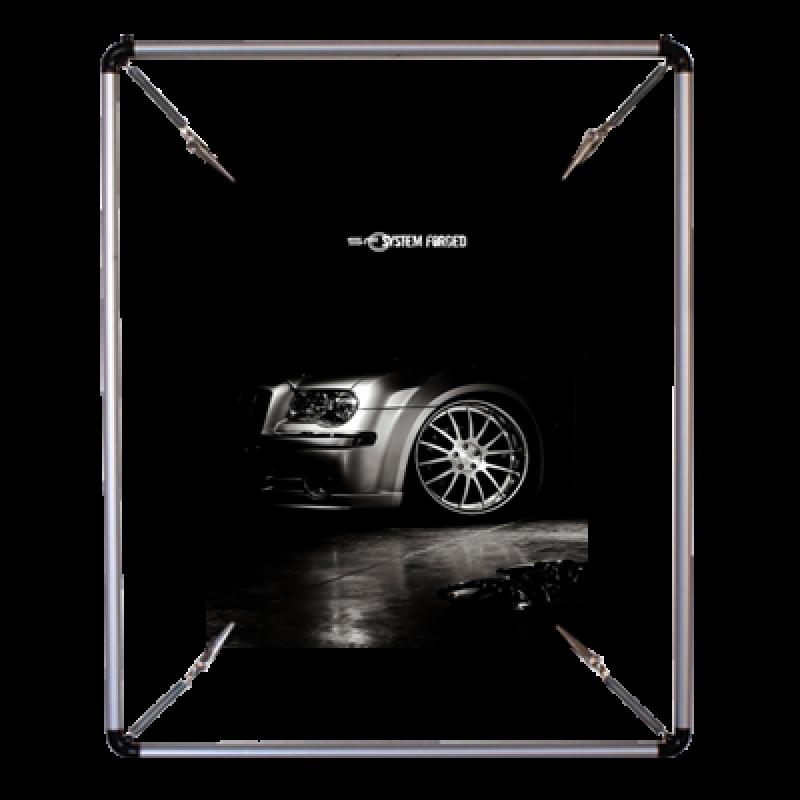 PS 570 Yuvarlak poster gerdirme (50x70 cm)