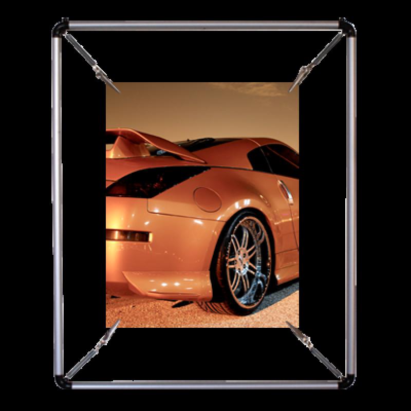PS 355 Yuvarlak poster gerdirme (35x50 cm)
