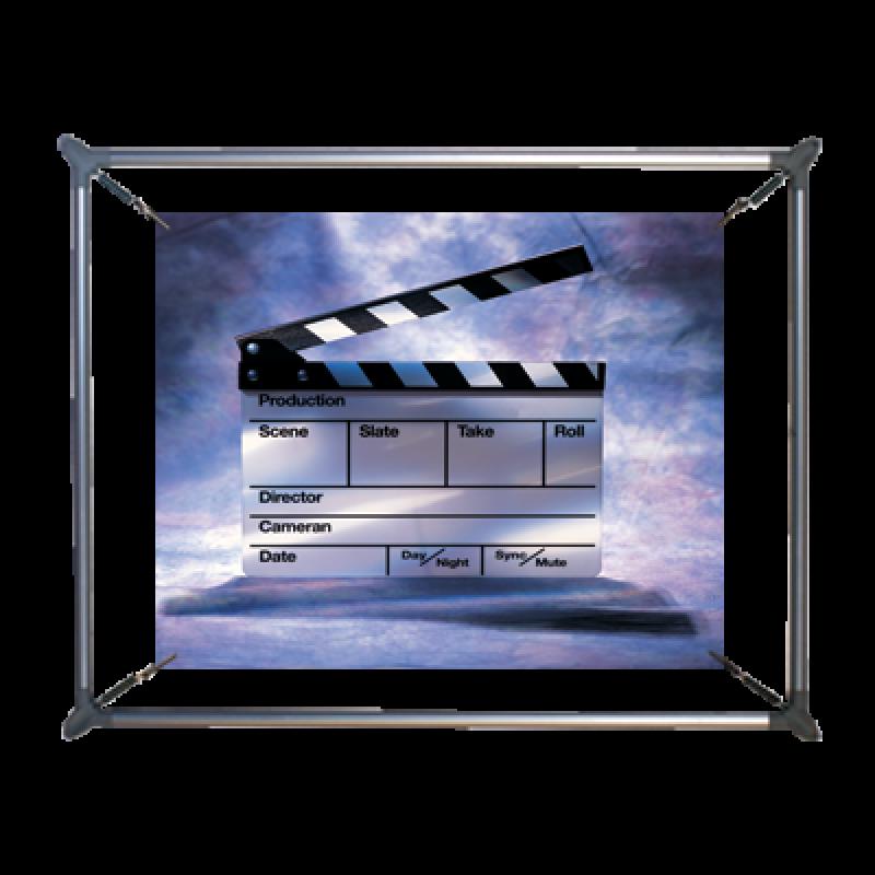 PES 710 Eliptik poster gerdirme (70x100 cm)