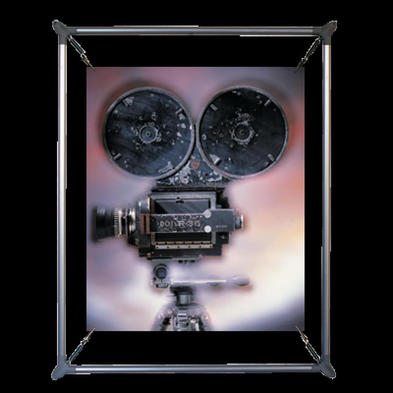 PES 570 Eliptik poster gerdirme (50x70 cm)